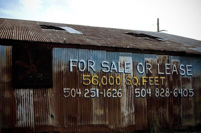 Rusted Warehouse by jakeliefer via Flickr