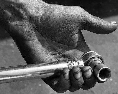 Hands of Mechanic by Kerry 2009 via Flickr
