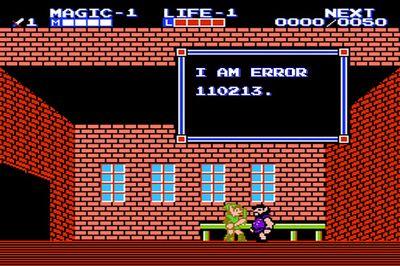 Video Game Error