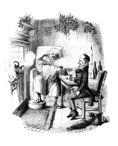 "Illustration from ""A Christmas Carol"" by Charles Dickens"