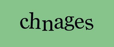 Ch-ch-changes by Rafa Garces via Flickr (Creative Commons)