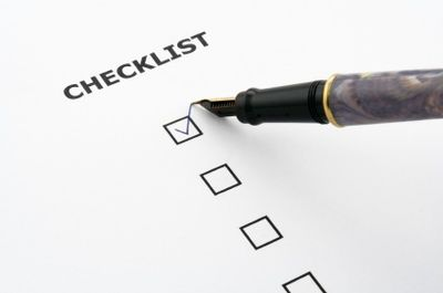 Checklist by mykpwedding via Flickr