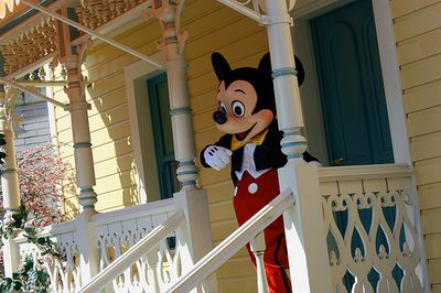 Mickey Mouse by wrayckage via Flickr Creative Commons